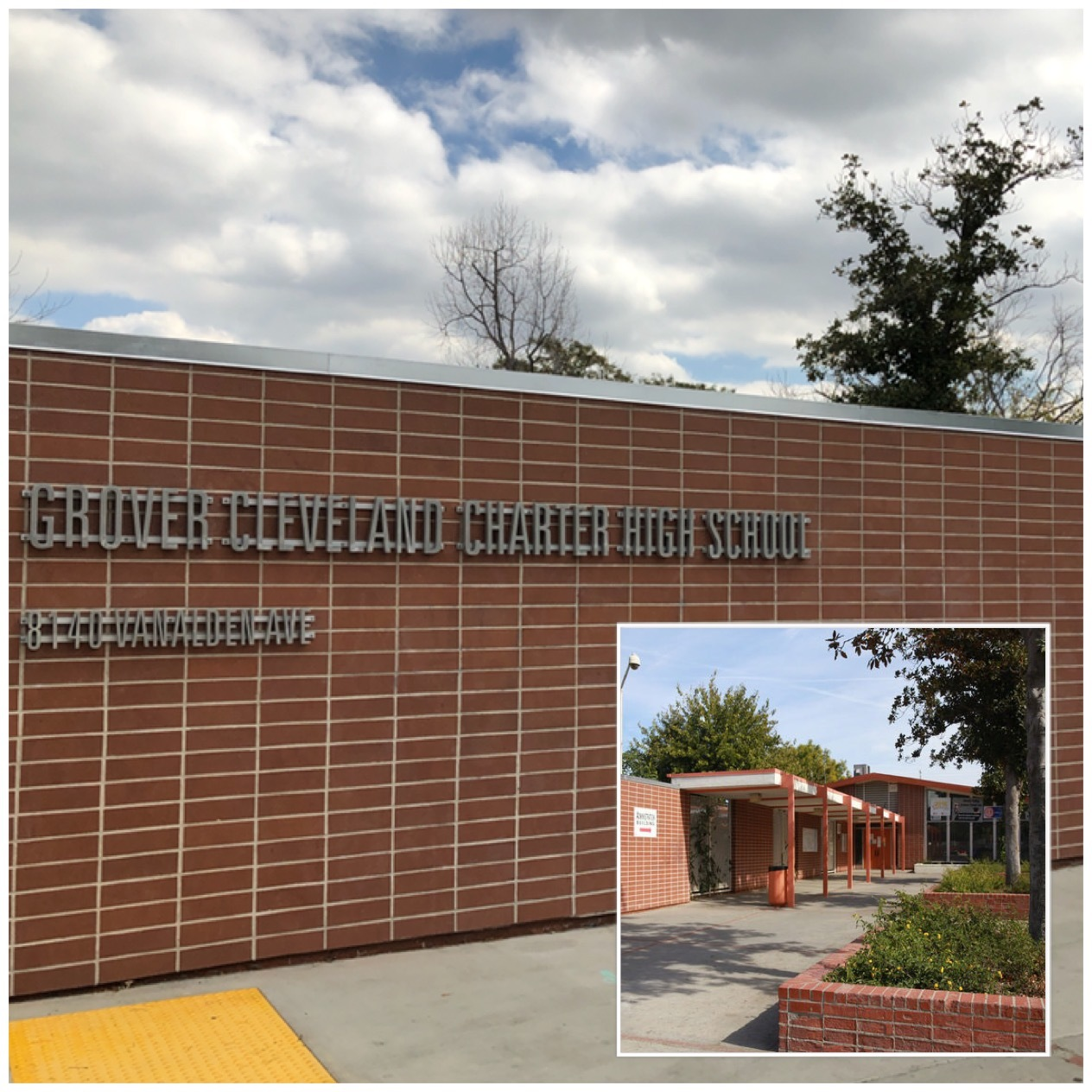 Grover Cleveland Charter High School Lausd School Search